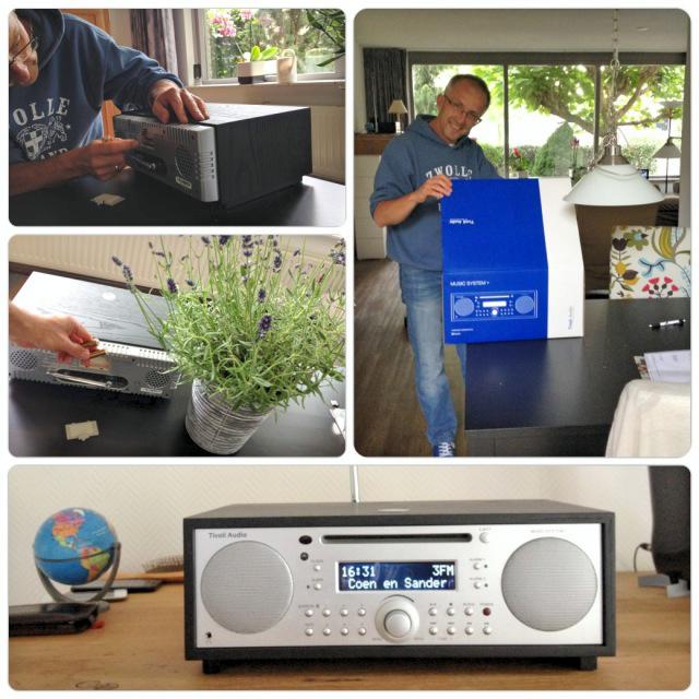 Sander met Tivoli radio
